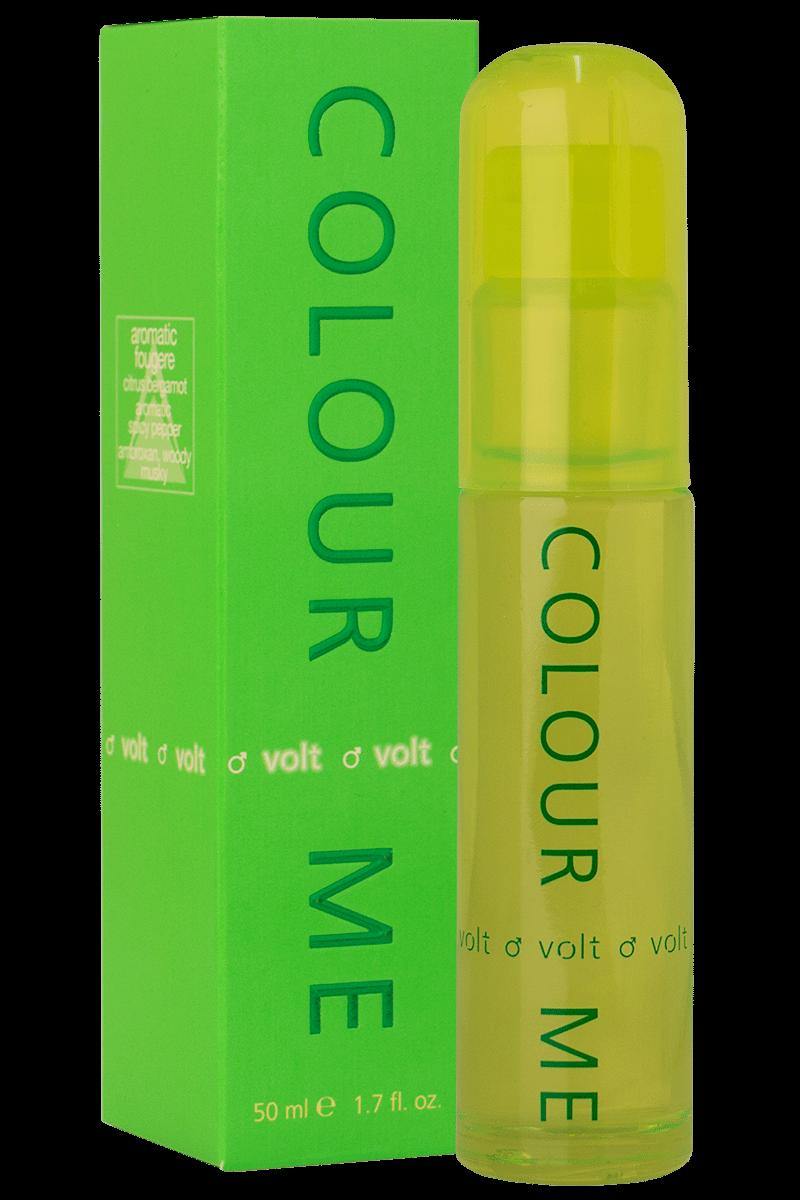 Milton Lloyd Men's Perfume - Colour Me Volt - 50ml EDT - Eau De Toilette