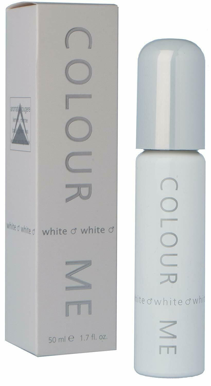 Milton Lloyd Mens Perfume - Colour Me White - 50ml EDT - Eau De Toilette
