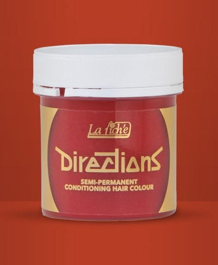 Coral Red Directions Hair Dye By La Riche