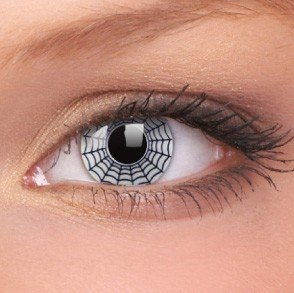 ColourVue Spider Crazy Contact Lenses