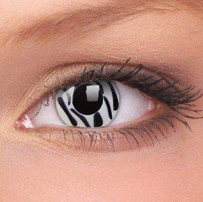 ColourVue Zebra Crazy Contact Lenses
