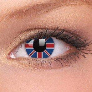 ColourVue Union Jack Crazy Contact Lenses