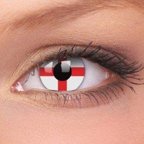 ColourVue George Cross Crazy Contact Lenses