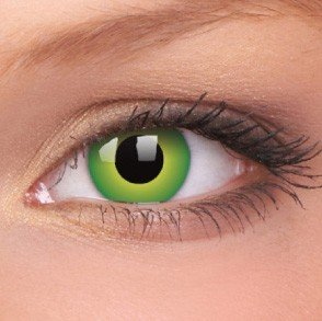 ColourVue Hulk Green Crazy Contact Lenses