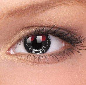 ColourVue Skull Crazy Contact Lenses
