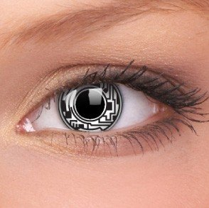 ColourVue Cyborg Crazy Contact Lenses