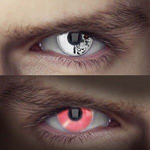 Edit's Terminator Range Cyborg Eye Contact Lenses