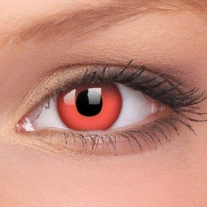 ColourVue Red Devil Crazy Contact Lenses
