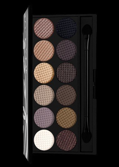 Sleek Makeup i Divine Eyeshadow Palette - Au Naturel (Nude)
