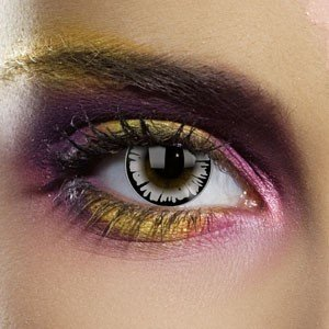 Edit's Big Eye Range Dolly Eye Grey Contact Lenses