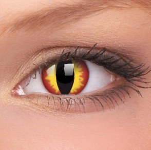 ColourVue Dragon Eyes Crazy Contact Lenses