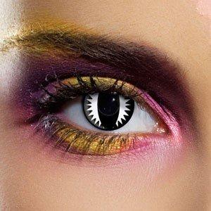 Edit's Crazy Range Black Dragon Contact Lenses