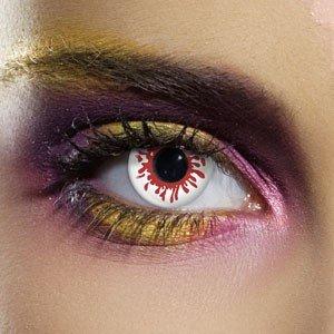Edit's Crazy Range Blood Splat Contact Lenses