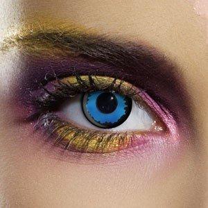 Edit's Crazy Range Blue Elf Contact Lenses