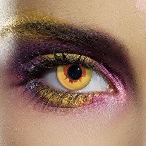 Edit's Crazy Range Gold Vampire Contact Lenses