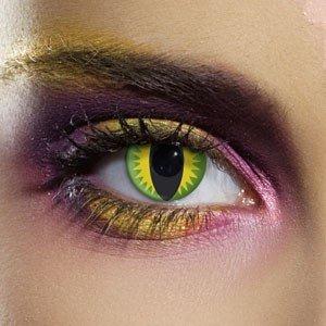 Edit's Crazy Range Green Dragon Contact Lenses