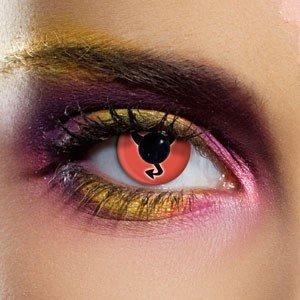 Edit's Crazy Range Little Miss Devil Contact Lenses