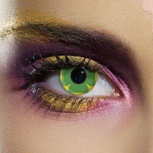 Edit's Crazy Range Lucky Clover Contact Lenses