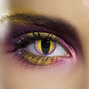 Edit's Crazy Range Purple Dragon Contact Lenses