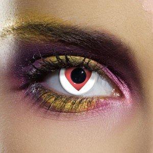 Edit's Crazy Range Queen Of Hearts Contact Lenses