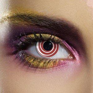 Edit's Crazy Range Red Spiral Contact Lenses