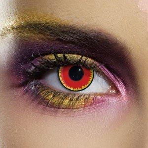 Edit's Crazy Range Red Vampire Contact Lenses