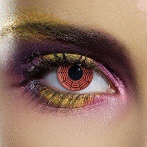 Edit's Crazy Range Red Web Contact Lenses