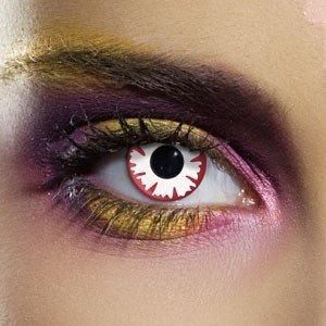 Edit's Crazy Range White Demon Contact Lenses