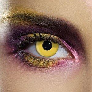 Edit's Crazy Range Yellow Contact Lenses