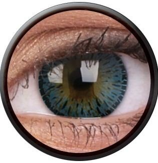ColourVue Blue Elegance Coloured Contact Lenses
