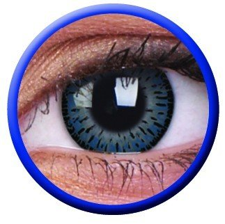 ColourVue Blue Eyelush Coloured Contact Lenses