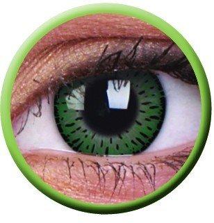 ColourVue Green Elegance Coloured Contact Lenses