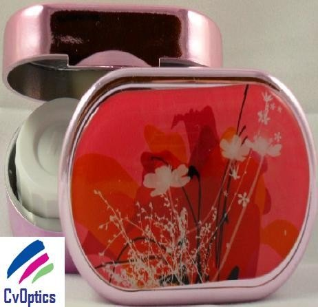Fairies Garden Karine Faou Contact Lens Soaking Case