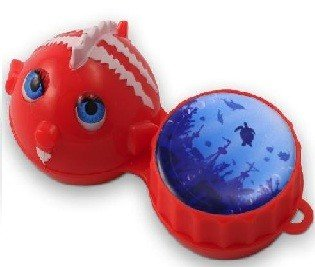 Funky Fish 3D Contact Lenses Storage Soaking Case