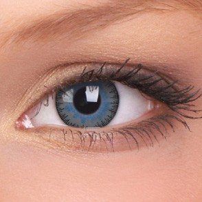 ColourVue Blue/Grey Fusion Coloured Contact Lenses