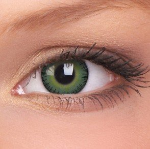 ColourVue Green/Yellow Fusion Coloured Contact Lenses
