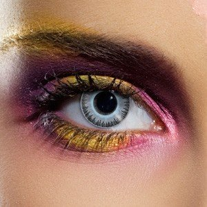 Edit's Fusion Range Blue & Grey Contact Lenses