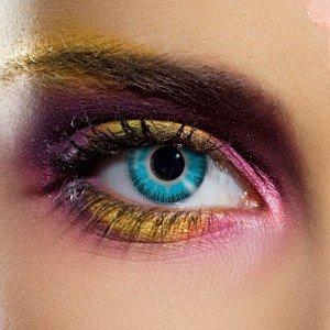 Edit's Fusion Range Blue & Yellow Contact Lenses