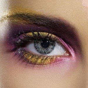 Edit's Glimmer Range Black & Gold Contact Lenses
