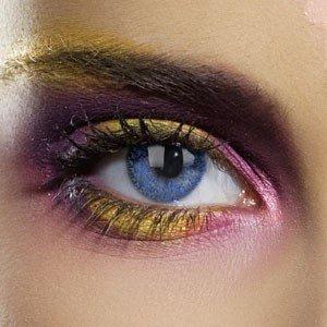 Edit's Colour Vision Range Glimmer Blue Contact Lenses