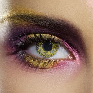 Edit's Glimmer Range Gold Contact Lenses