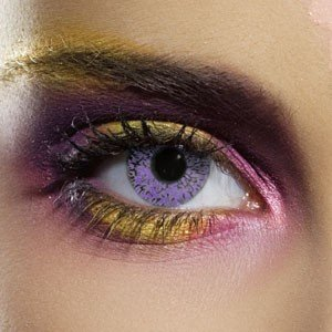 Edit's Glimmer Range Violet Contact Lenses
