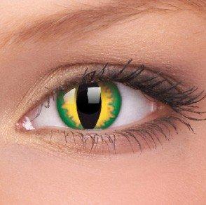 ColourVue Green Dragon Crazy Contact Lenses