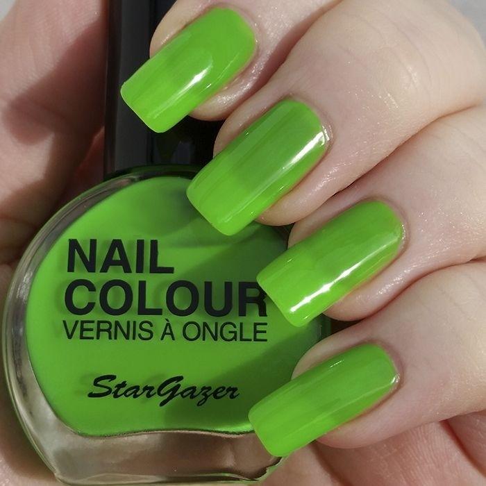 Stargazer UV Green Neon Nail Varnish 14ml 101
