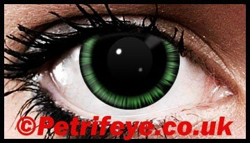 Green Abyss Funky Contact Lenses