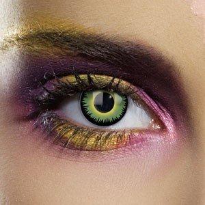Edit's Colour Vision Range Green Werewolf Contact Lenses