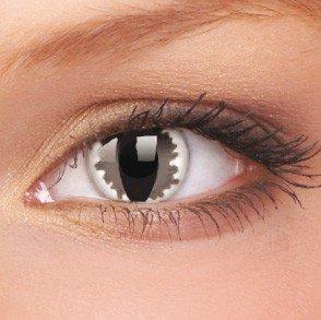 ColourVue Grey Dragon Crazy Contact Lenses