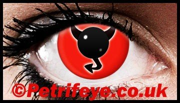 Horny Devil Wicked Contact Lenses