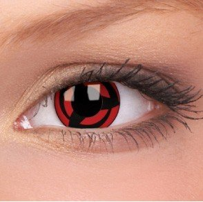 ColourVue Kakashi Crazy Contact Lenses