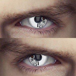 Edit's Terminator Range Machine Head Contact Lenses